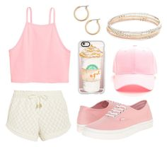 """""""Pink Days"""" by watermelon-cdxii ❤ liked on Polyvore featuring Paloma Blue, Vans, Casetify, Nordstrom, Kate Spade and Pink"""