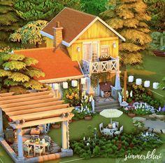 Sims 4, Gazebo, Outdoor Structures, House Styles, Home Decor, Kiosk, Decoration Home, Room Decor, Pavilion