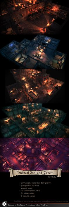 Inn and Tavern Unity Pack by Texelion.deviantart.com on @DeviantArt
