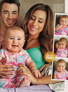 Kevin, Danielle, and Alena Rose Jonas - People magazine Sept. 2014