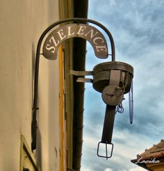 Shop sign - Győr, Hungary