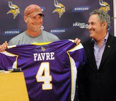 Minnesota Vikings Brett Favre # 4