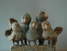 Finn Hald Garden Sculpture, Lion Sculpture, Clay Birds, Pottery, Statue, Outdoor Decor, House, Art, Sculptures