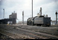 RailPictures.Net Photo: unk Pennsylvania Railroad Steam 4-6-2 at Kearny, New Jersey by John Dziobko www.godfatherrails.com