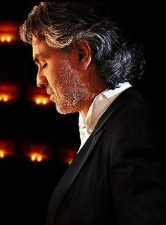 Andrea Bocelli.  His beautiful music and voice hypnotizes me!  -Penny-