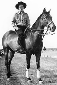 Walt was, in his younger days, an avid polo player and horseman.