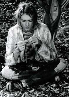 Kurt Cobain #Nirvana Heart-Shaped Box Music Video Shoot