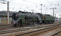 Image Train, Train France, Amiens, Old Trains, Steam Engine, Steam Locomotive, Loire, Oeuvre D'art, Diesel