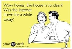 this is exactly what matt said to me while the modem was broke for over a week and a half!