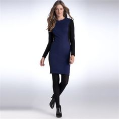 349e92b04ff La redoute womens sexy BLUE two tone body con MILANO KNIT DRESS UK 16 EU 44
