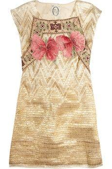One Vintage|Ashley dress|NET-A-PORTER.COM - StyleSays