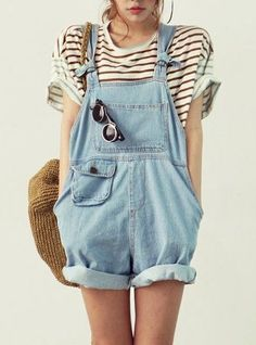 #summer style #overalls