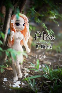 Gucihai Pattern Loli collection Alice : By Guichai ✿ THIS IS CROCHET PATTERN ONLY - NOT A FINISHED DOLL PDF File. --------------------------------------  LANGUAGE :: ✿ English --------------------------------------  Alice Pattern This pattern will portrait a lovely, cute and a little bit sexy young girl named  Alice  Attractive looks with the green dress or sexy to the limit with the violet bikini.  Inside the pattern you will find how to make this doll, every procedure is explained complete…