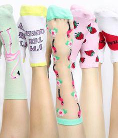 Três lugares para comprar as meias divertidas mais lindas desse mundo! ❤️ http://hashtagfun.com.br/moda/meias-divertidas-para-comprar/