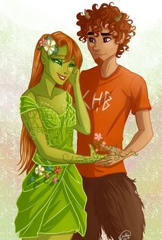 Grover and his girlfriend – Percy Jackson