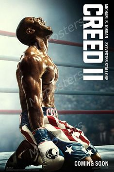 Creed II Rocky Movie Canvas And Poster, Canvas Wall Art, Wall Decor Visual Art - Poster / 16x24in