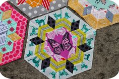 Sew Lux Fabric : Blog: Smitten Quilt Along : Month One Blocks