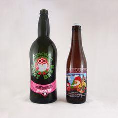 Hitachino Nest Beer from Japan vs. La Chouffe from Belgium. Craft Beer, Beer Bottle, Belgium, Funny Animals, Nest, Japan, My Love, Mini, Crafts