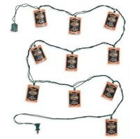 Harley Davidson Oil Can Party String Lights. 99209 12V