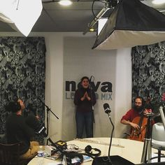 C'etait le Live de #NéoGéoNova avec Naïssam Jalal Mehdi Chaib et Karsten Hochapfel - la formation Naïssam & Rhythms of Resistance