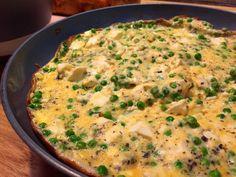 Nieuw recept: Omelet met doperwten en feta - http://wessalicious.com/omelet-met-doperwten-en-feta/