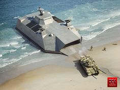 Landing Craft Concept on Behance