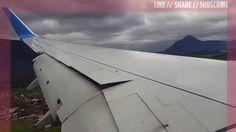 Danger Airplane Landing in Salzburg