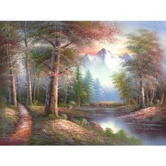 Serenity  Hand Painted Oil on Canvas