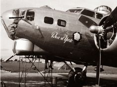 Rose of York, a B-17 of the 306th Bomb Group named in honor of Princess Elizabeth.