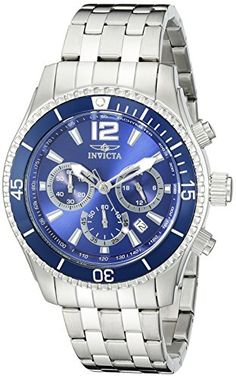 Invicta Mens 19762 Specialty Analog Display Quartz Silver Watch *** Read more  at the image link.
