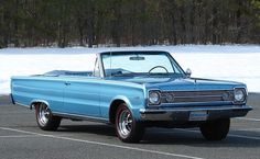 1966 Plymouth Satalite convertible Maintenance/restoration of old/vintage vehicles: the material for new cogs/casters/gears/pads could be cast polyamide which I (Cast polyamide) can produce. My contact: tatjana.alic@windowslive.com