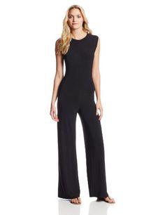 KAMALIKULTURE Sleeveless Jumpsuit in Black - http://www.womansindex.com/kamalikulture-sleeveless-jumpsuit-in-black/