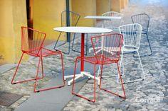Linea Too slim Corradi - per un angolo all'aperto dal design pulito #arredo #giardino
