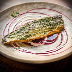 Happy #fishfriday! Try our grilled mackerel fillet with beetroot salad and horseradish dressing delicious and as pretty as a picture too! #hungryfortapas#mackerel #fish #beetroot #salad #horseradish #seafood #grilled #winter #tapas #seasonal #manchester #manchesteruk #mcr #awardwinning #restaurant #lovetapas #foodmcr #eatmcr #food #chef
