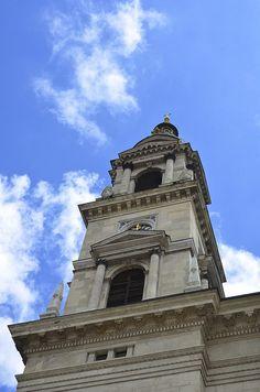 St. Stephen's Basilica in Budapest, Hungary. #travel