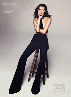 """Body Talk"" Bella Hadid for ELLE US May 2015"