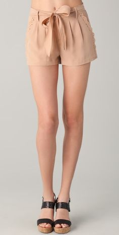 Rebecca Taylor Knock Me Out Shorts