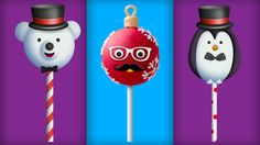 Finger Family Collection | Christmas Cake Pops Finger Family Songs | Merry Christmas