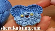 free crochet pansies violets - YouTube