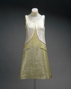Evening dress André Courrèges (French, born Pau, 1923) Date: 1965 Culture: French Medium: cotton