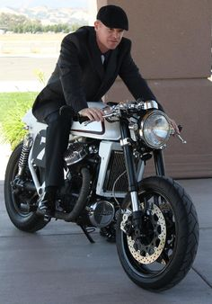distinguished gentleman's ride. Get the right look at www.BritishMotorcycleGear.com