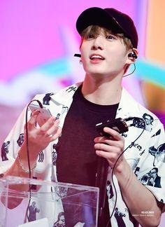 "170804 BTS @Music Bank in Singapore Jungkook   전정국 "" © HEADLINER   Do not edit."""