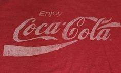Enjoy Coca-Cola Coke Soda Red X-Large Short Sleeve Tee T-Shirt XL A1 #CocaCola #GraphicTee