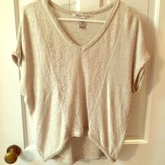 American Rag Top with Lace Detailing Used condition. Size small. American Rag from Macy's. American Rag Tops Blouses