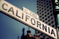 Love, Love California..where I was born, where my parents were born..where my brothers live/lived...love it..great place, great people....