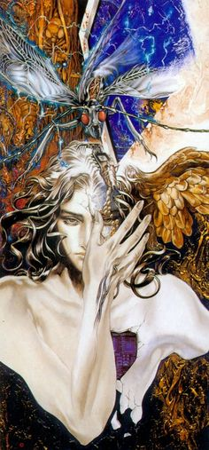 Kai Fine Art is an art website, shows painting and illustration works all over the world. Castlevania Wallpaper, Castlevania Anime, Dark Fantasy Art, Dark Art, Art Goth, Bel Art, Ai No Kusabi, Art Et Illustration, Japanese Artists