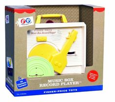 The #Fisher Price Change-A-Record Music Box, more commonly known as the Fisher Price Record Player, is a favorite among those who played with it as a child. Orig...