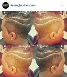 Bout' That Life! Natural Tapered Cut, Short Natural Styles, Natural Hair Cuts, Short Hair Styles, Sassy Hair, Edgy Hair, Short Black Hairstyles, Short Hair Cuts, Shaved Hair Designs