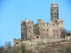 Burg Maus - Castles of the Rhine River, Germany