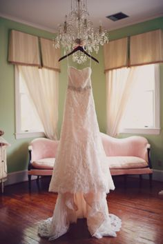 beaded wedding gown with sash OUR WEDDING is on the wedding chicks blog! yay! Thank you! xoxo -@Honey Bee Invites